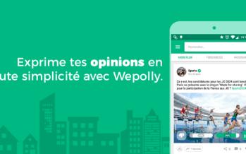 Wepolly, réseau social pour partager son points de vue tout en découvrant l'avis des autres utilisateurs