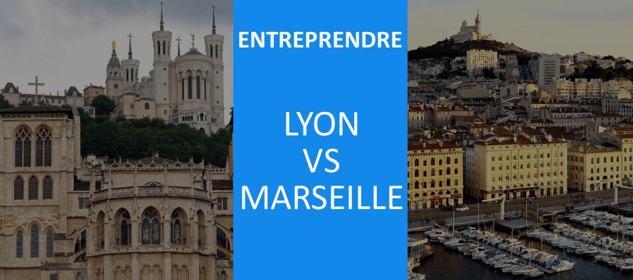 Lyon & Marseille : laquelle des deux villes est la plus favorable à l'entrepreneuriat ?