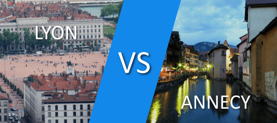 Lyon ou Annecy : quelle est la ville d'implantation idéale pour son entreprise ?