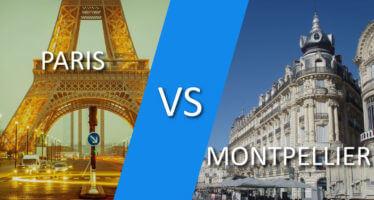 Paris ou Montpellier : dans quelle ville est-il avantageux de s'implanter ?