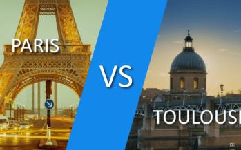Paris ou Toulouse : où peut-on entreprendre le mieux ?