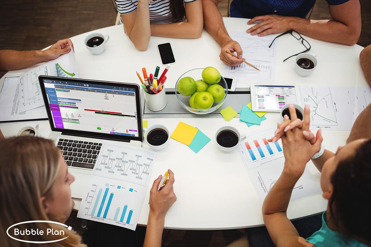Bubble Plan : Logiciel gestion de projet et planification en ligne