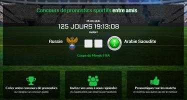 PronoContest : Concours de pronostics sportifs corporate
