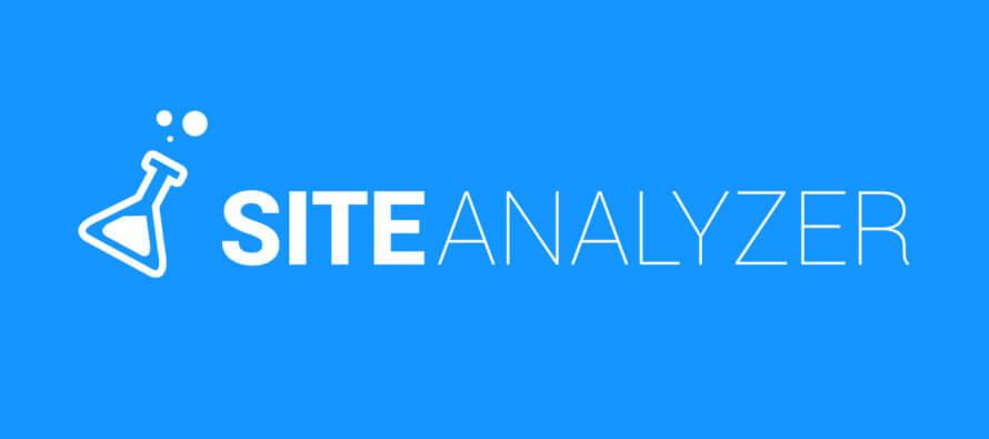 Site Analyzer analyse de site web pour améliorer le référencement