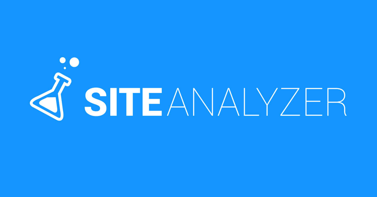 Site Analyzer analyse de site web pour améliorer le référencement et de suivre son positionnement dans les moteurs de recherche