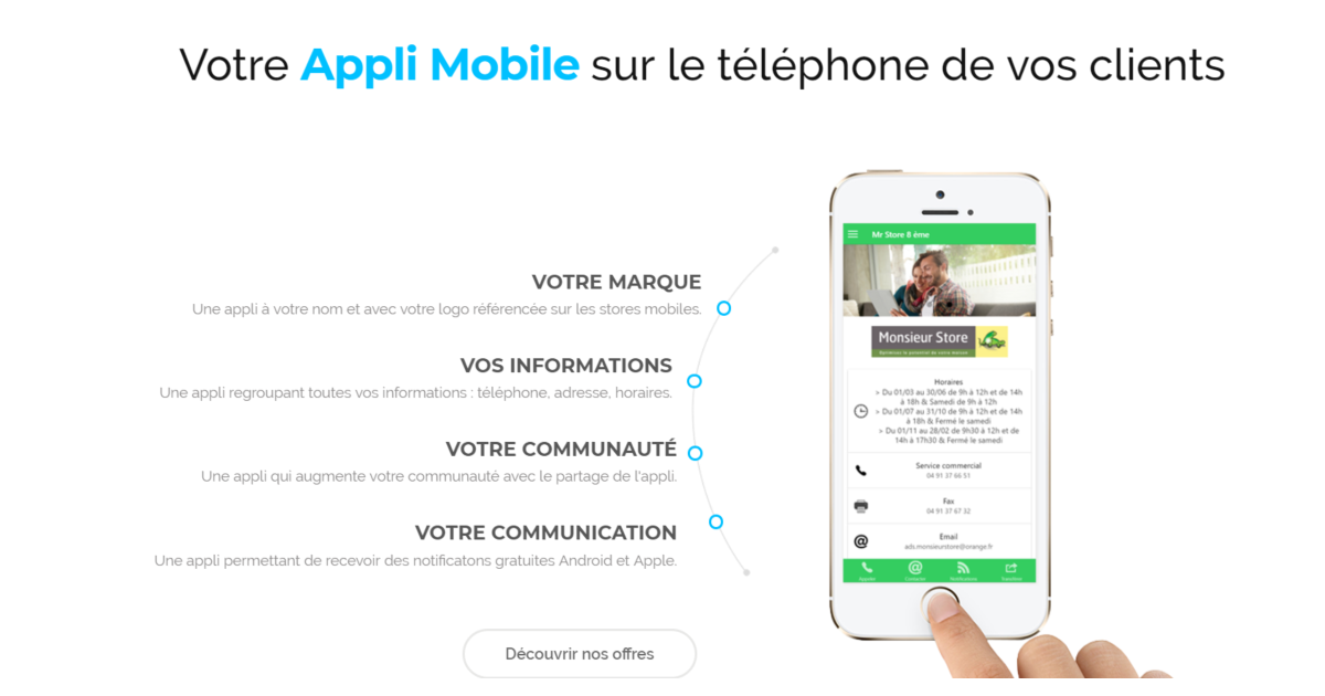 1000Applis digitalise la relation client de tout point de vente