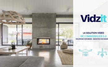VIDZIT : solution vidéo des agents immobiliers 3.0