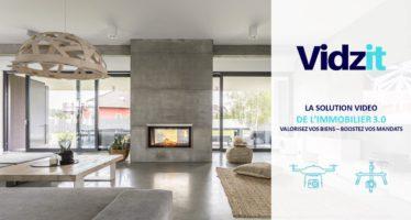 VIDZIT : solution de production vidéos pour des agents immobiliers 3.0