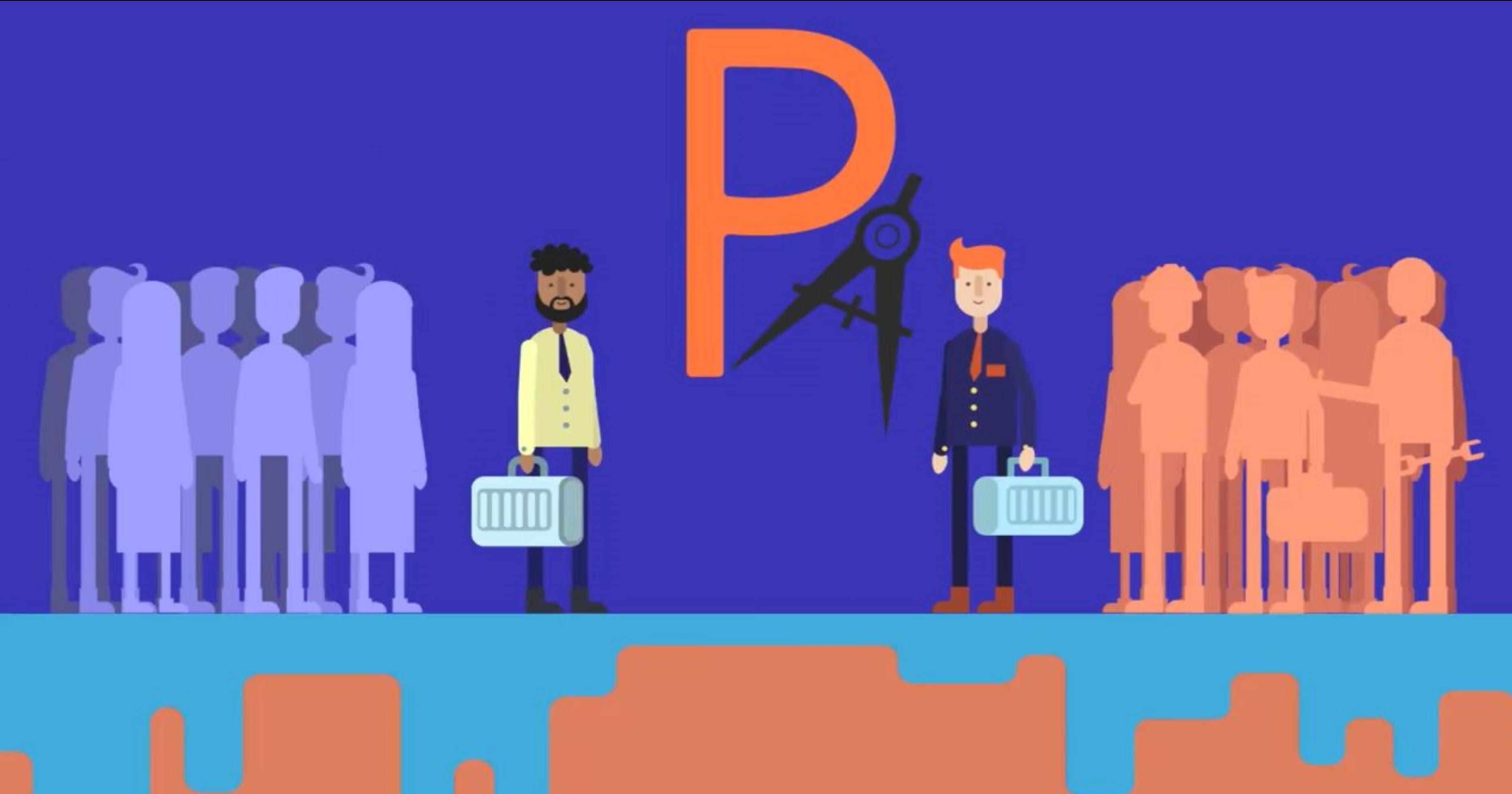 Projeteurs.com : mise en relation des porteurs de projets avec des freelances du secteur de l'industrie et du bâtiment.