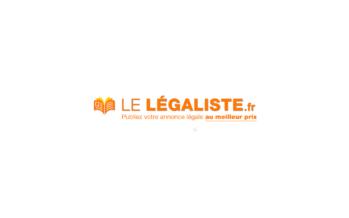 Lelegaliste : Annonce légale pas cher
