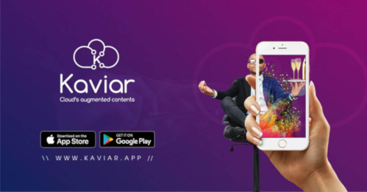 KaviAR logiciel en ligne de Réalité Augmentée